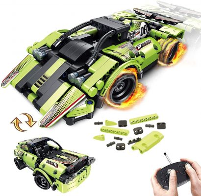 Gamzoo 2-in-1 Remote Control Racer