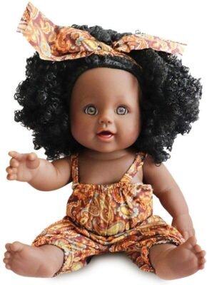 Nice2You African Girl Fashion Play Baby Doll