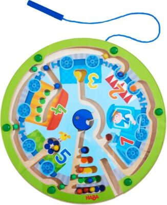HABA Neato Number Train Magnetic Maze Game