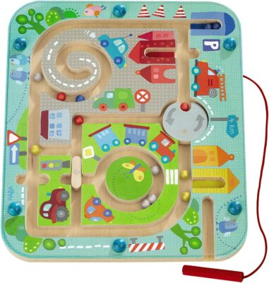 HABA Town Maze Magnetic Puzzle Game